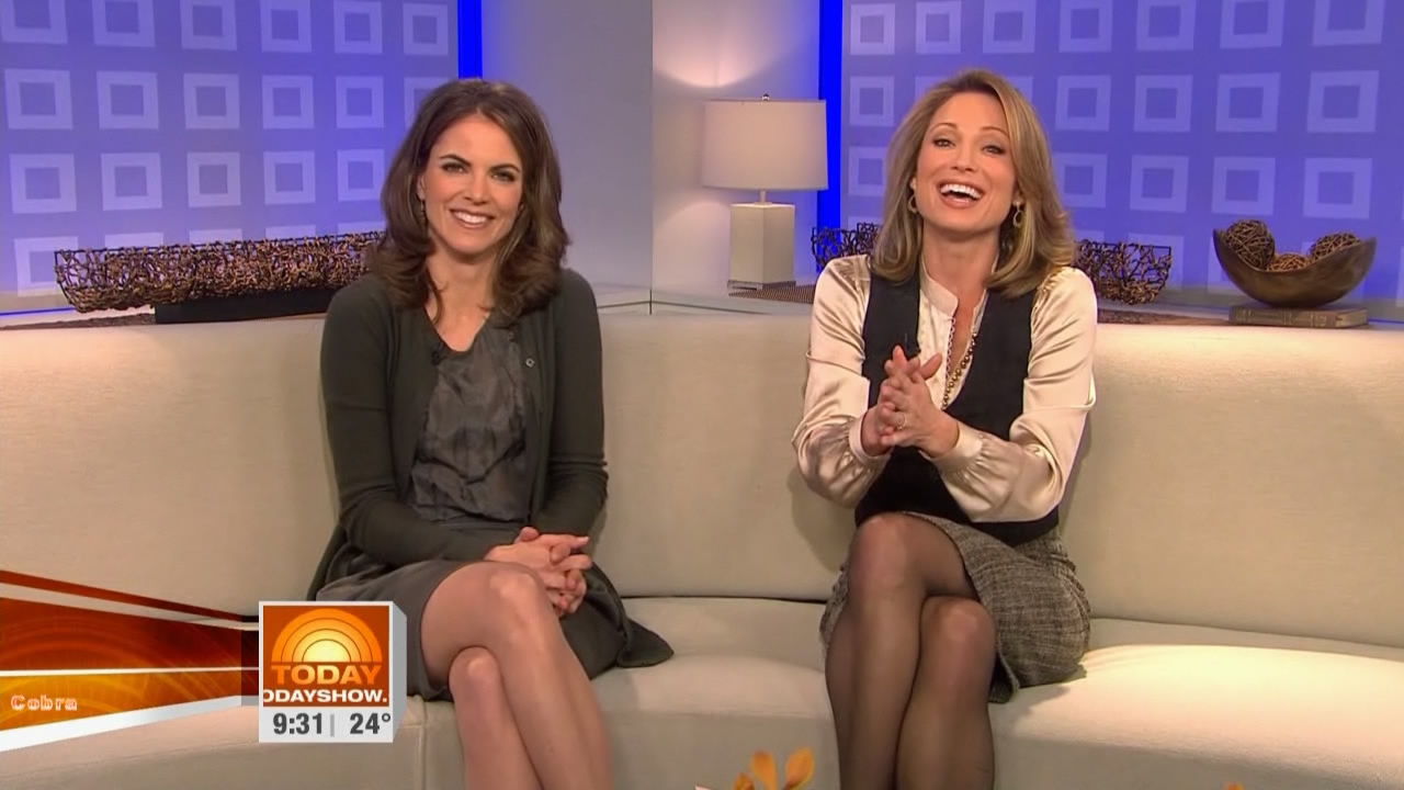pics in pantyhose Amy robach