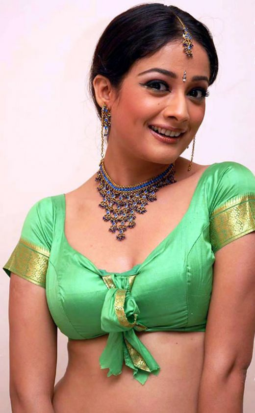 The actress is a North Indian, but acted mostly in South Indian movies.