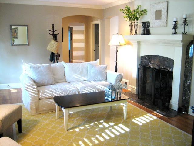 Ten June Living Room Updates Fresh White Trim