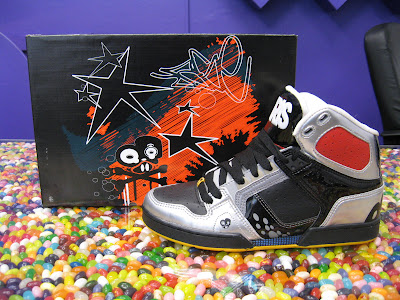 Lase NYC Osiris High Top. (Designed by New York graffitti pioneer NYC Lase)