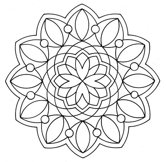 Mandalas para pintar | The science of Keira