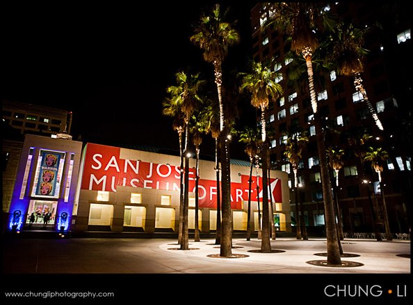 san jose art museum campbell wedding planner coordinator san francisco