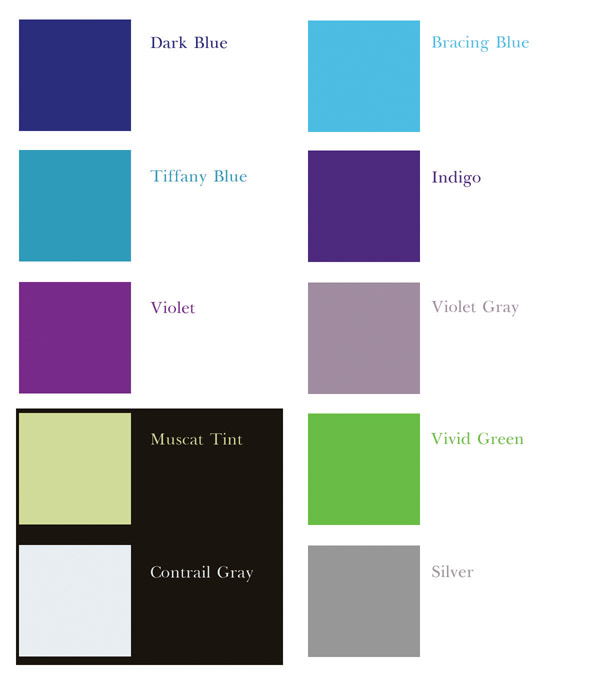 cold colors family, cold colors, wedding colors, blue, violet, silver, green, color, wedding consultant, wedding planner