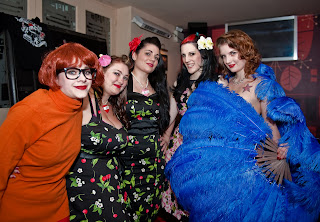 burlesque night in Wirral