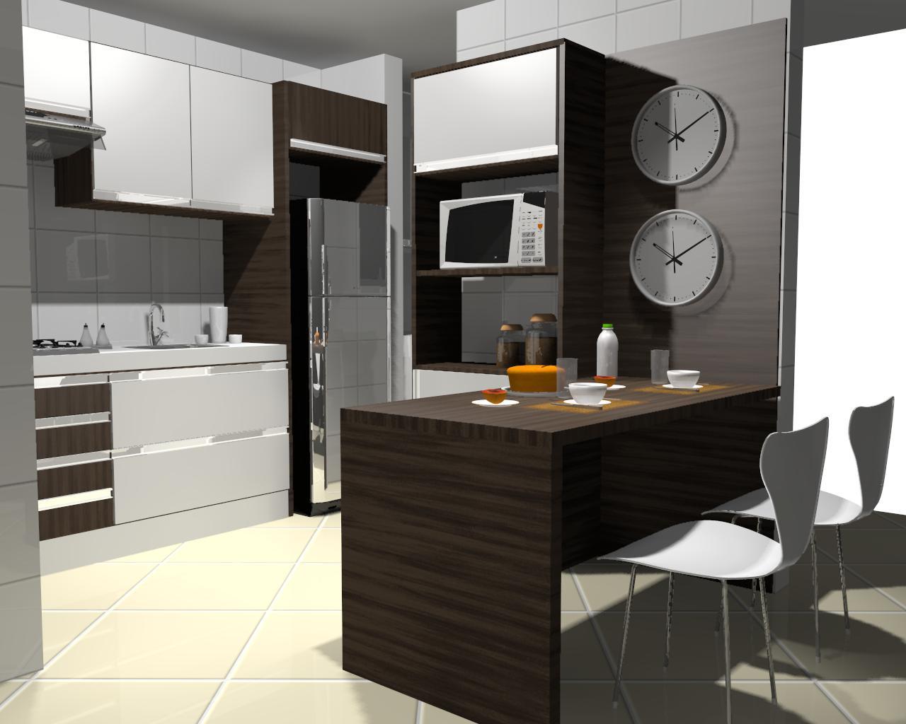 Design de Interiores ®: ' Mini Cozinha #B67115 1280 1024