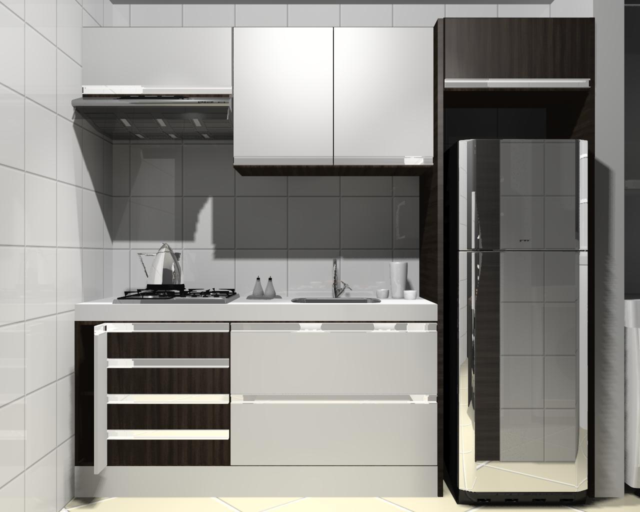 Cozinha Pequena Cliente #2F2C28 1280 1024