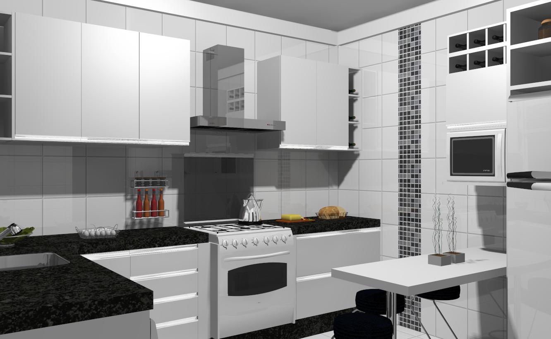 Design de Interiores ®: ' Cozinha #673A2A 1332 820