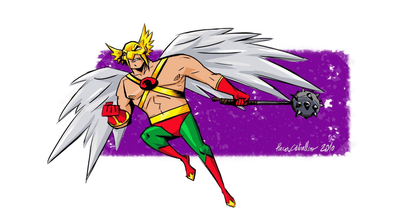 Hawkman paco caballero - Paco caballero ...