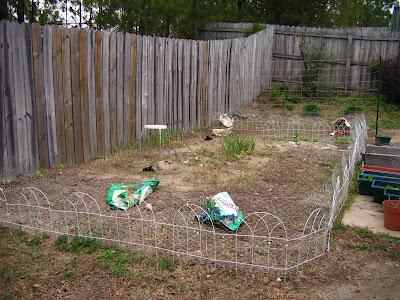 Herb Garden Plot, Before