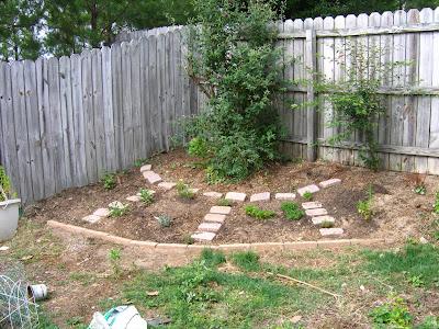 Herb Garden Plot, After