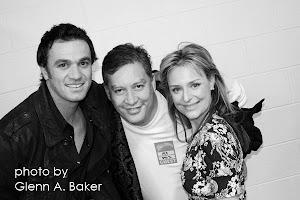 Shannon Noll, Rachael Beck & I