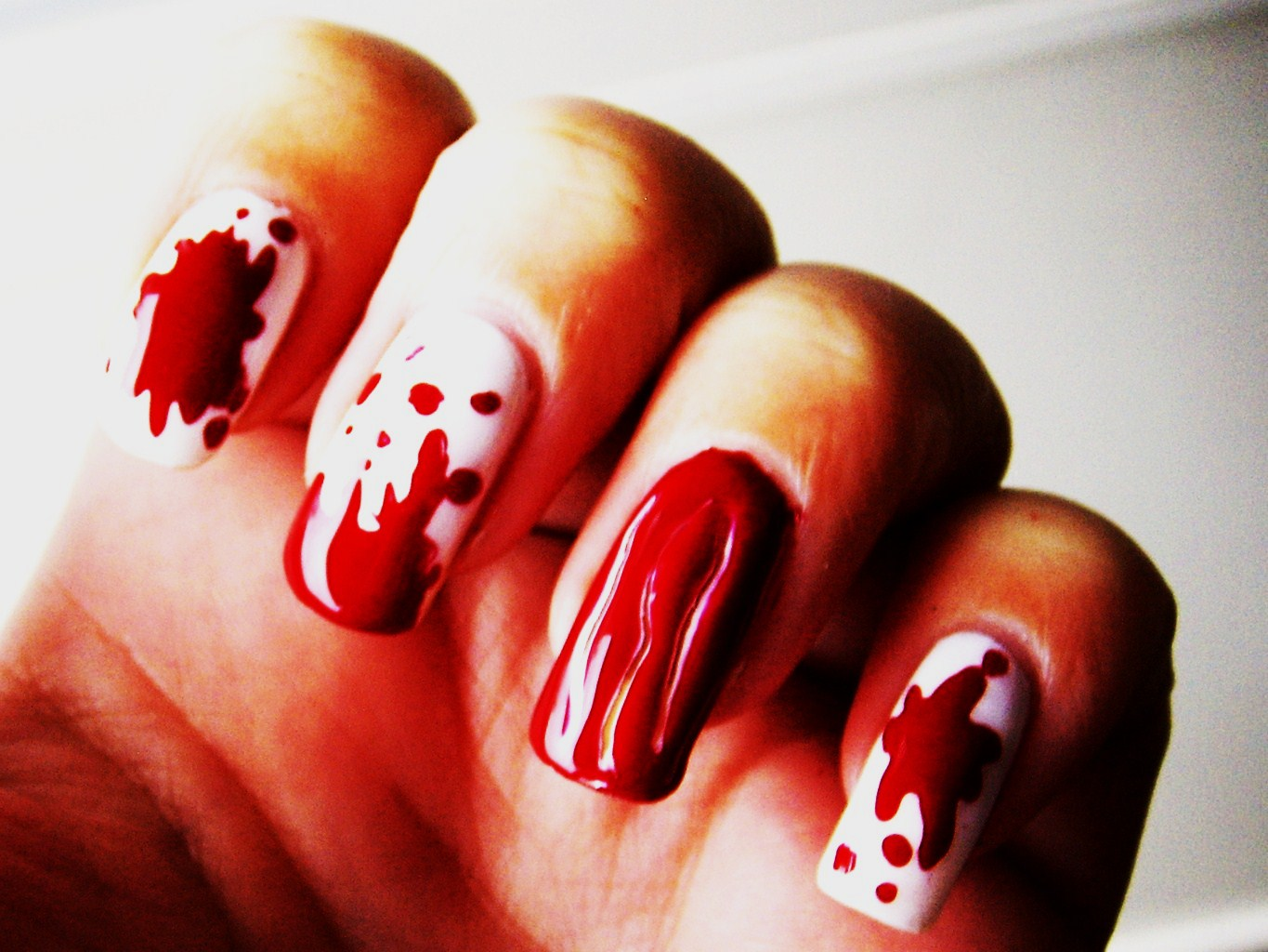 How to Do Halloween Nails HD Wallpaper