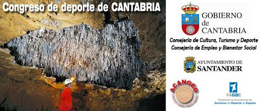 Congreso de deporte de CANTABRIA