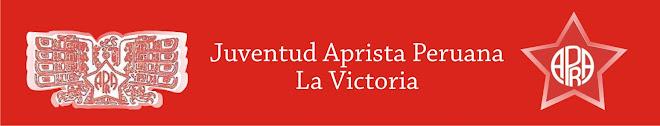 JUVENTUD APRISTA PERUANA LA VICTORIA