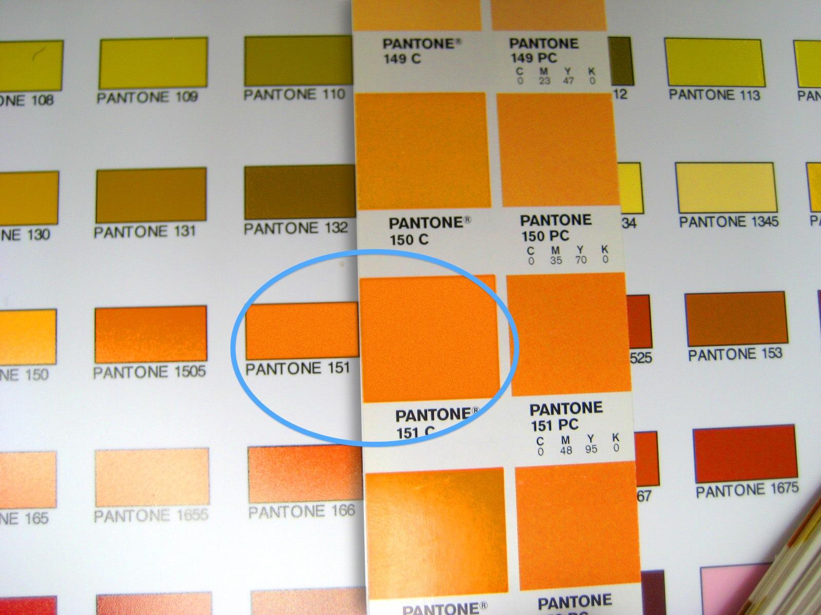 Webmaster Link Tips: La psicologia del colore pantone