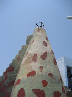 奎壁山的瞭望塔