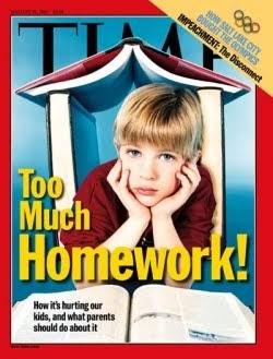 too much homework in canada