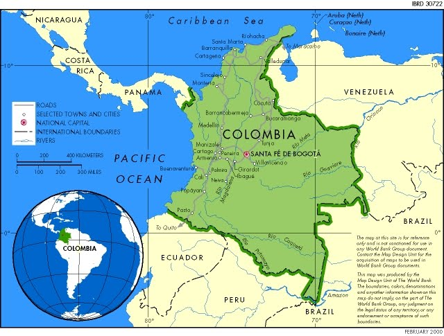 Where is Colombia? / Where is Colombia Located in The World ...