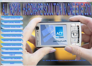 ALL NOKIA HARDWARE SOLUTION IN 1 EXE 2010