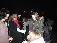 Carol Singing in the Park