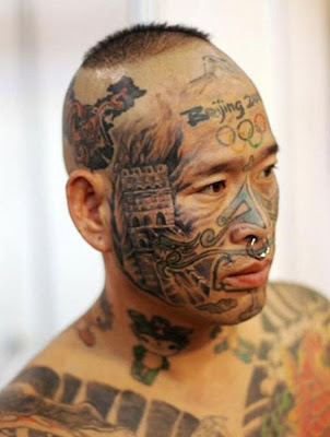 Tattoos of Beijing olympic