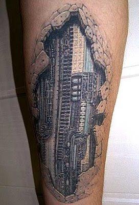 Избрани 3D Tattoo Creative-3D-tattoo-03