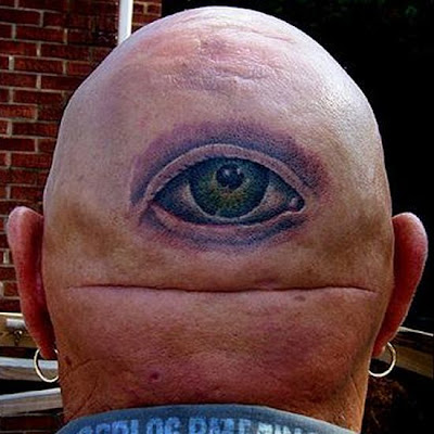 funniest tattoos. Creative Eye Tattoos - 08Pics