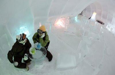 Ice Hotel Japan 08