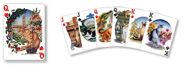 personalised playing cards
