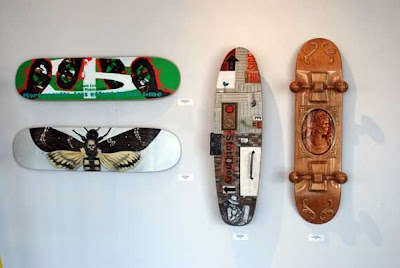 skateboard layouts