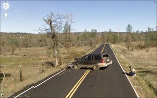 Accidents caught on Google street view