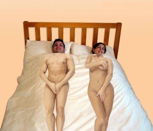 фото спящий смешные голые