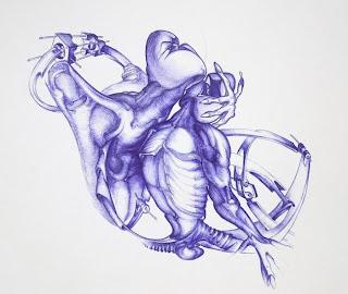 20 outstanding art in Ballpoint pen drawing