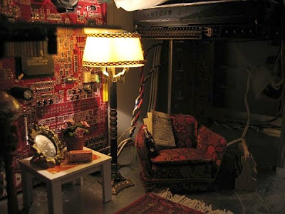 computer living room