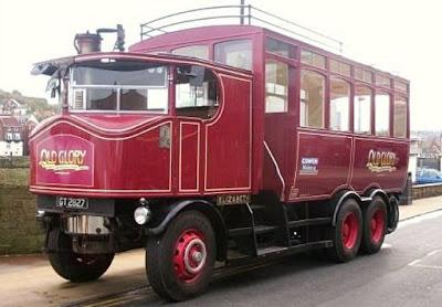 steam truck