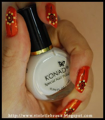 orange1 Nailart Pictures   Revisited