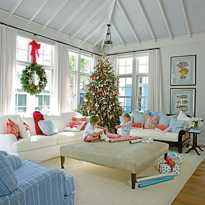 Living Room for Christmas