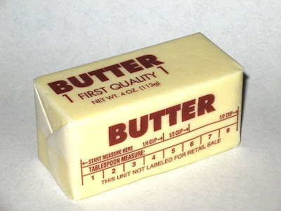 Sweet boy butter me up for 8 tablespoons of butter