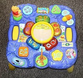 VTech Sit-to-Stand Learn & Discover Table - Walmart.com