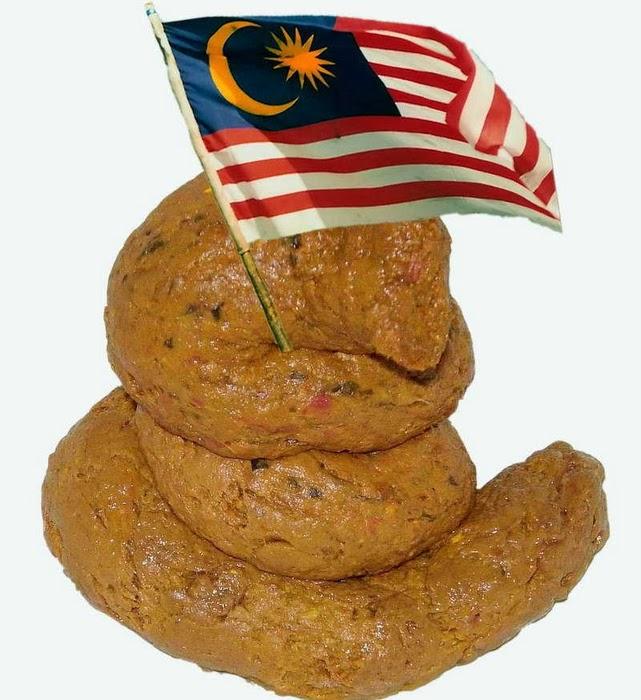 malaysia fuck tai anjing bendera malaysia