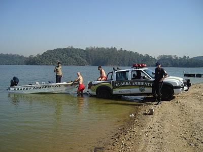Guarda Ambiental de SBC encontra cadavér