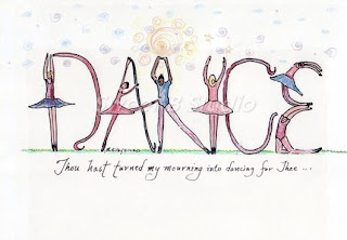 design art dance word art