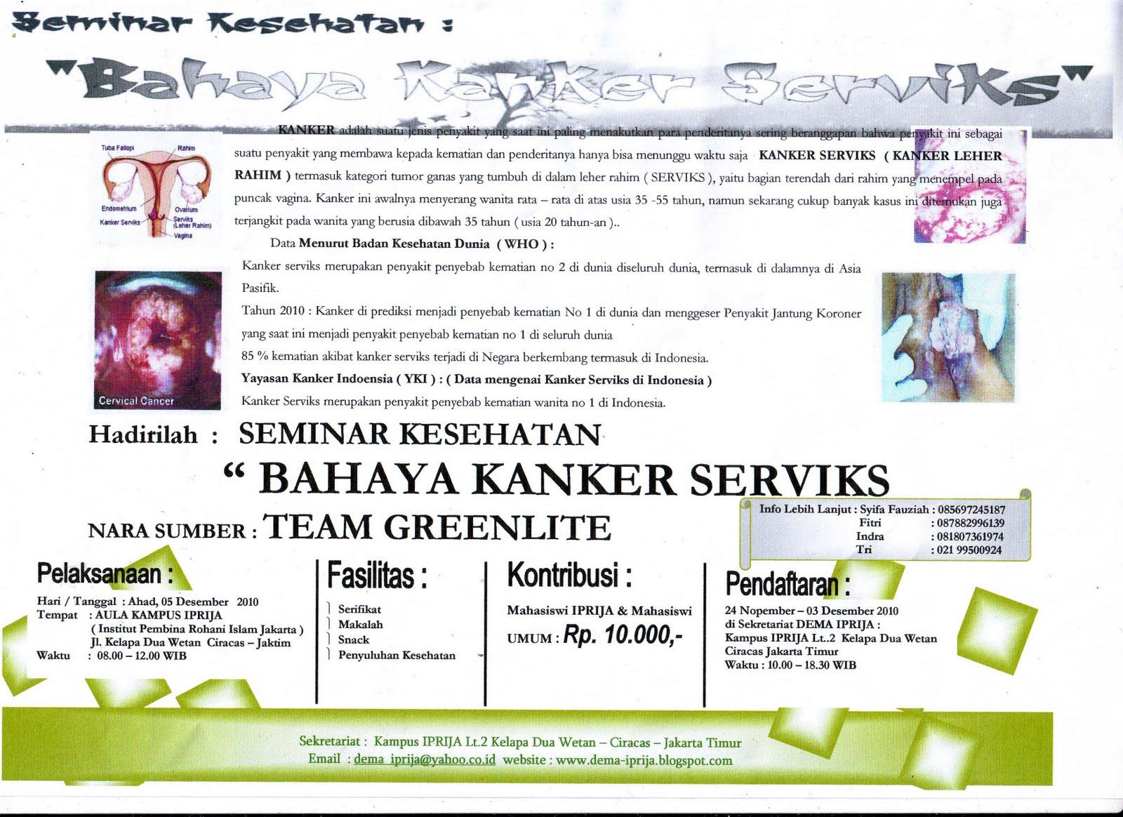 Mahasiswa Institut Pembina Rohani Islam Jakarta ( DEMA - IPRIJA