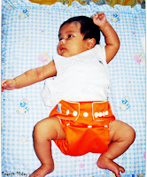 Sarah dan Babyland Plain Orange