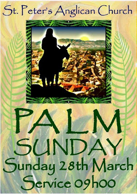 Palm sunday message for children