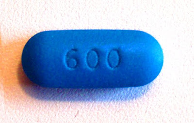 BLUE PILL WITH HEAD.