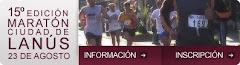 15º EDICION MARATON CIUDAD DE LANÚS