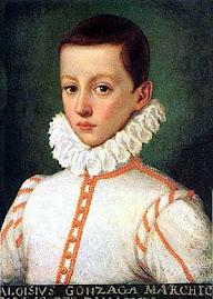 St Aloysius As A Youth.