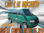 VW  T- 4 CALIFORNIA  2.5  T.D.I.  102 C.V   AÑO  1997