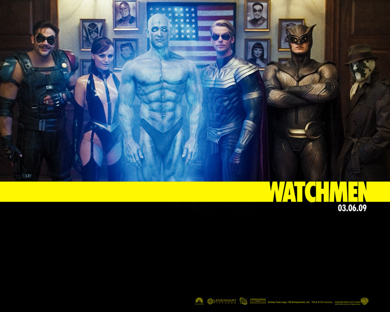 watchmen wallpaper. Outro Alan Moore.